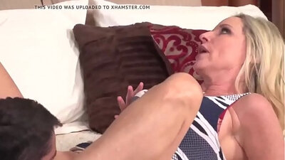 Mature mother and son getting fucked