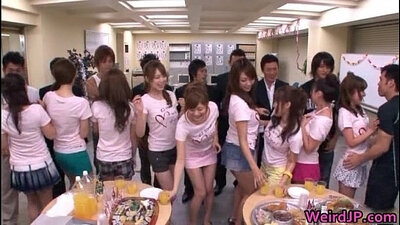 extreme japanese babe girls stretching and sucks