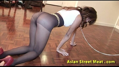 Asian Anal Outfit Gets it Muscle In Her Ass