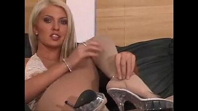 Andy andheart lesbian pantyhose action