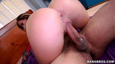 Anessa Adams Mischa Leigh and Keisha Grey in one white dick