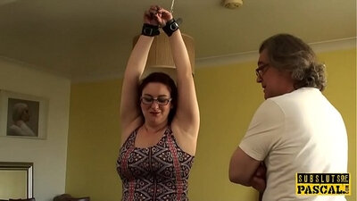 Awesome bigboob chubby English hoe got fisted