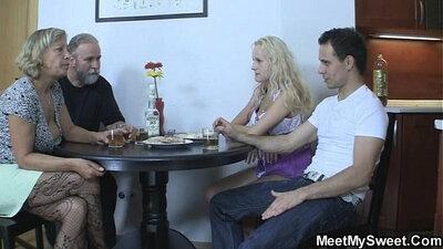 Brit Stepmom Cheats On Son With Girlfriend