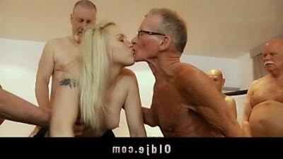 Sexy youthful Lolita Taylor groupbang Fuck In Old And youthful Porn