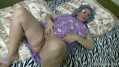 Blonde Michelle Plays with pussy and begins to suck