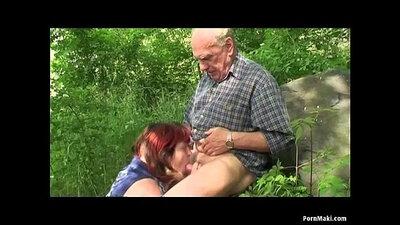 Grandpa Fucks Young Granny Casey