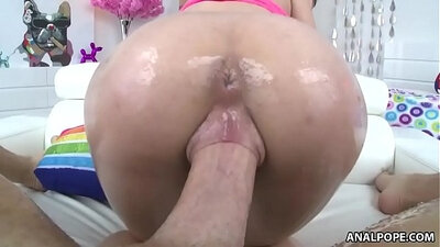 Kimmy Granger Gets Her Young Anal Pussy Fucked By Big Dick