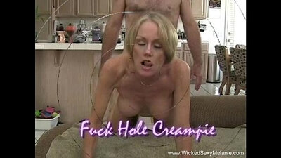 Big queen mom get creampie after boots off