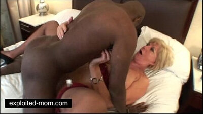 Interracial Mom Gets Orgasm From Black Cock