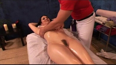 Massage milf fucked in the ass