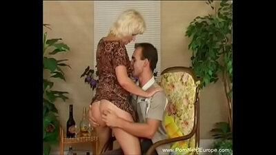 Love stranger fucking older german mother and son