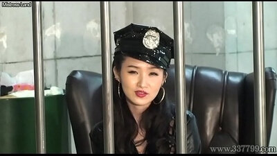 BDSM sub performing lot of squirting around the dungeon