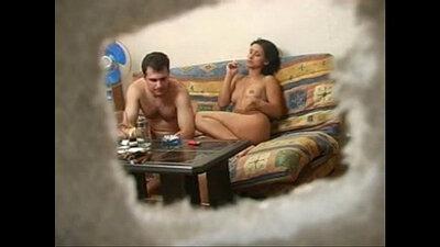 Sucking Neighbours Dick Hidden cam