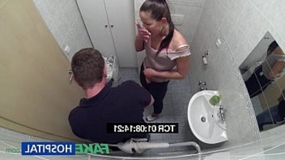 FakeHospital messy milf sex addict gets her asshole fucked by the doctor