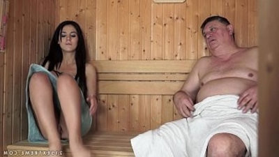 Horny Grandpa Fucks The lil Bella Beretta