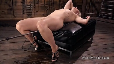 Blonde Playing With Orgasming And Squirting