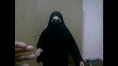 Arab bangs with black guy in office