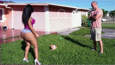 Bad Ass Latina Giving Up My Cock