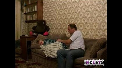 Father likes his homemade enjoyment of daughter