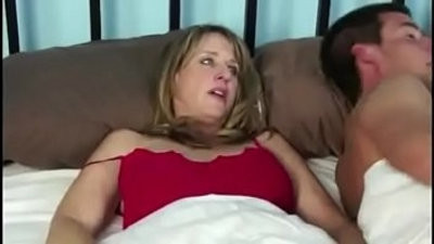 Mom and son hook up in hotel