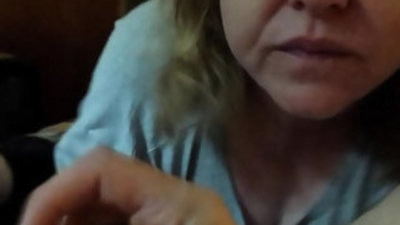 MOTHER EATING ALL THE CUM OF HER REAL SON