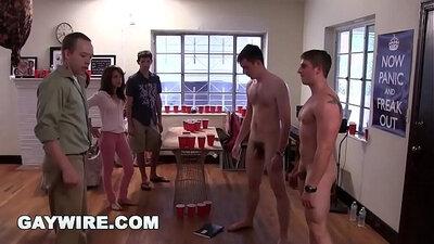 College lesbian chicks enjoy humiliation by Professor