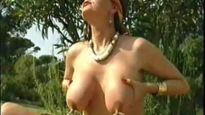 Pierced nips And Pussy