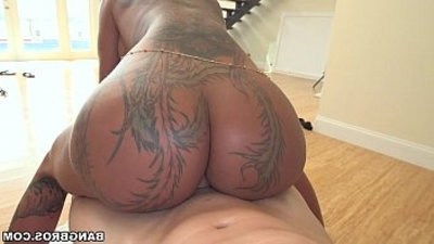 Tattoos and Hard style in Anal Bella Bellz