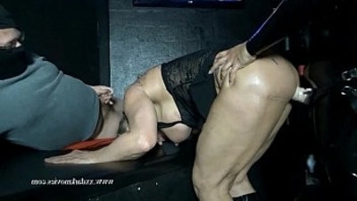 Muscle mummy is used hard in Danish sexclub