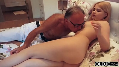 Real step dad cums to 18 years old Claudia Bastini