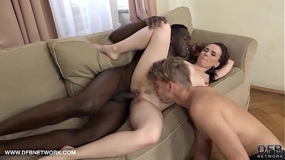 Black Husband and Wife Finding Anal