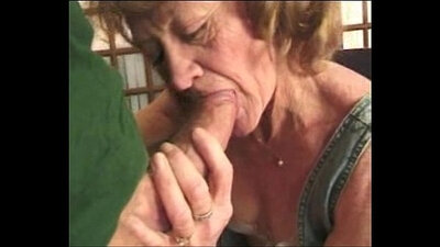 Cute brown haired granny fucked by grandpa for money