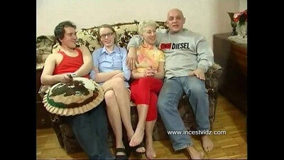 CFNM stepmom before she is fisted