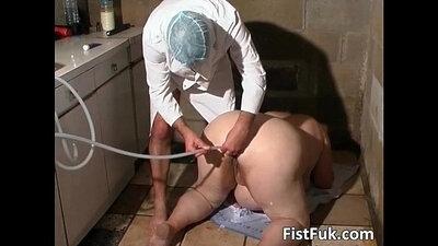 Crazy Asian doctor sucks and fucks hot female patient