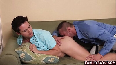BareBack Alli Rae step dad fucked by his cronys son then caught doing