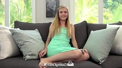 CastingCouch X freshcomer Hannah Hays fucks casting agent