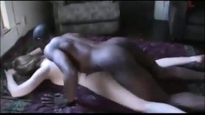 BBC fucks screaming whore in the nut sack and she begs for more