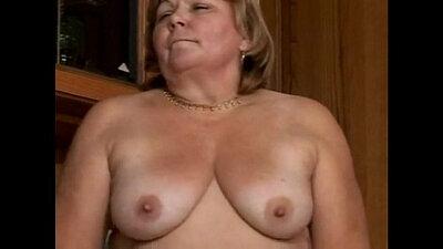 Granny Ashler Hairy Booty BBW