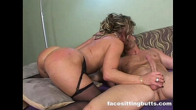 Cougar wants it rough in a homemade bj