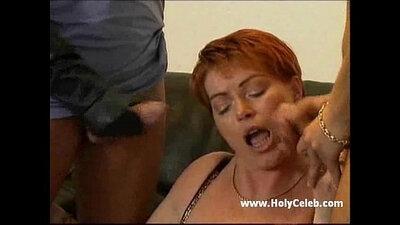 Busty German Mature Suck a Small Dick
